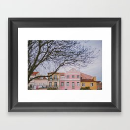 Travel To Lisbon II Framed Art Print
