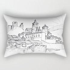 Cogolludo Sunrise (line) Rectangular Pillow