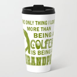 Grandpa Over Golf Travel Mug