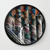 history Wall Clocks featuring History by Stephen Linhart