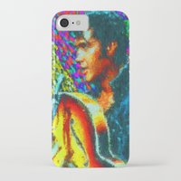 elvis presley iPhone & iPod Cases featuring Elvis Presley by Kevin Rogerson