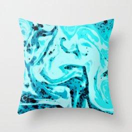 No. 11, Ocean Throw Pillow
