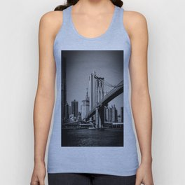 Brookly Bridge Unisex Tank Top