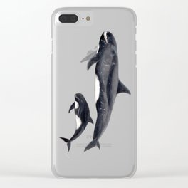 Pygmy killer whale Clear iPhone Case