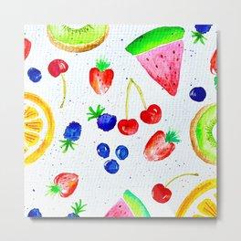 Fruity Fruit Fruit  Metal Print