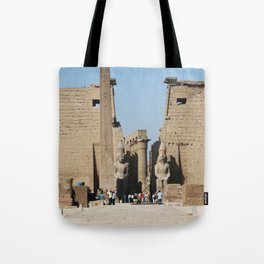 Temple of Luxor, no. 12 Tote Bag