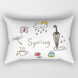 Spring feels Rectangular Pillow