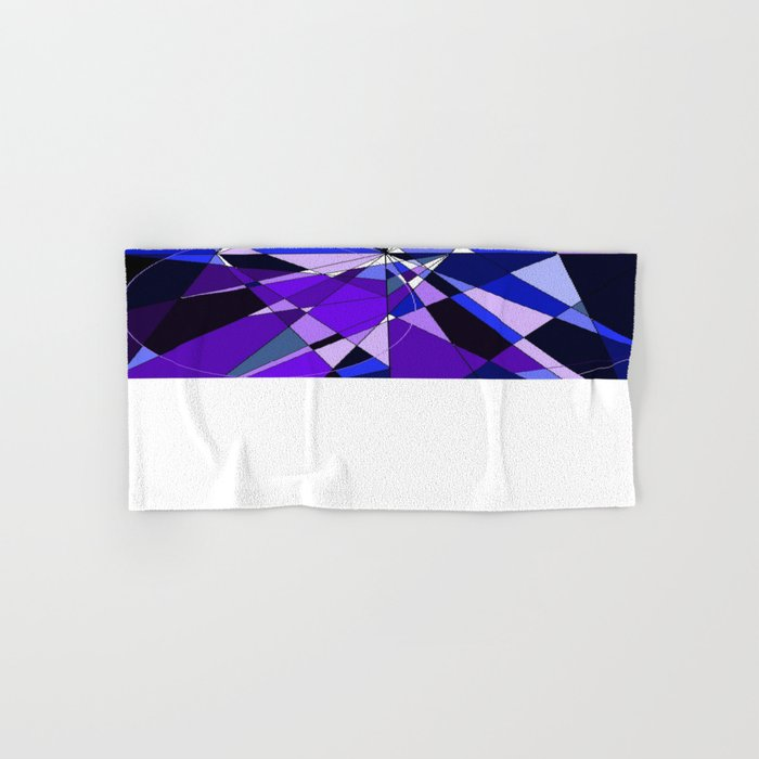 Broken Glasses Hand & Bath Towel