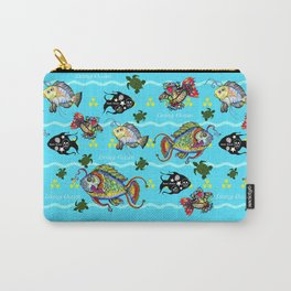 Dead Fish Society Carry-All Pouch