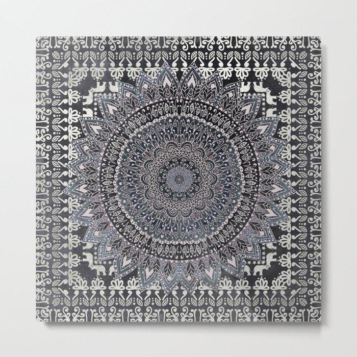 MANDALIKA MOON Metal Print