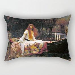 John William Waterhouse - The Lady of Shalott Rectangular Pillow