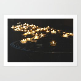 Sacred Lights Art Print