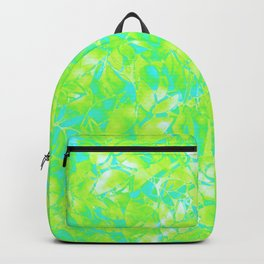 Grunge Art Floral Abstract G170 Backpack