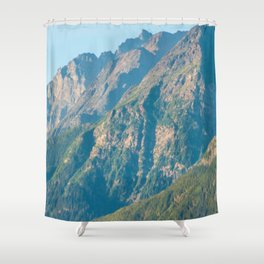 Mountain Slopes Shower Curtain