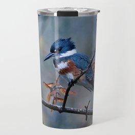Belted Kingfisher | Bird | Wildlife Photography Travel Mug