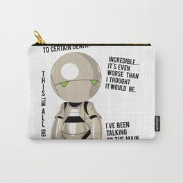 Marvin the pessimist Carry-All Pouch