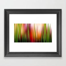 Heißer Sommer. Framed Art Print