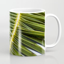 Green Palm-Leafes of Sicily Coffee Mug