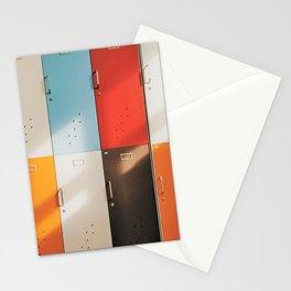 Retro Lockers Stationery Cards