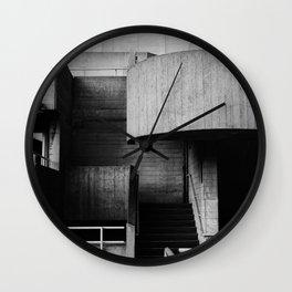 National Theatre | London |  United Kingdom by Sir Denys Lasdun Architect Wall Clock