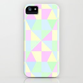 SWEET PIE PASTEL PATTERN iPhone Case