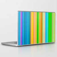 stripe Laptop & iPad Skins featuring stripe by AmeliaPeelArt