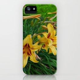 Regal Lilies iPhone Case