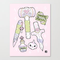 Vampire Kit - Pastel Edition Canvas Print