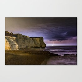 Bolt out of the blue Canvas Print