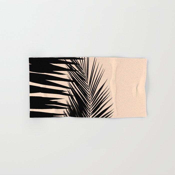 Palms on Pale Pink Hand & Bath Towel