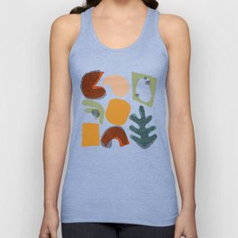 Playing Shapes Unisex Tank Top