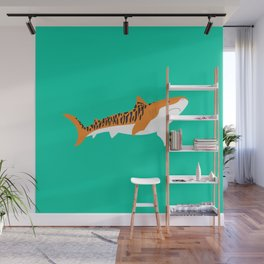 Tiger Shark Wall Mural