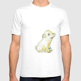 Pig Illustration T-shirt