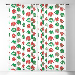 Cozy Chritmas Jumpers Blackout Curtain