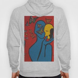 SKIN DEEP  (ORIGINAL SOLD)  #Society6  #decor  #buyart Hoody