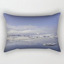 Glacial Lagoon 01 Rectangular Pillow