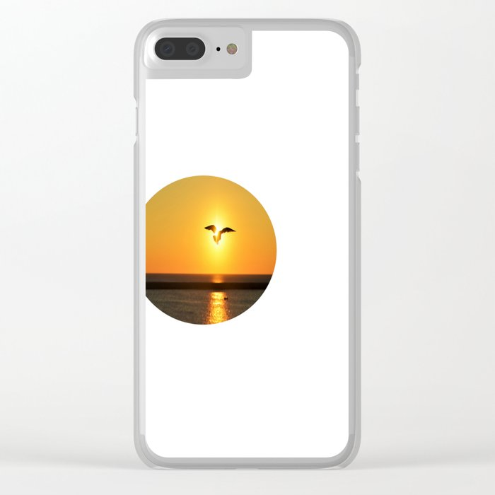 Icarus Vacationing in San Diego, California  Clear iPhone Case