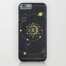 The Solar System iPhone Case