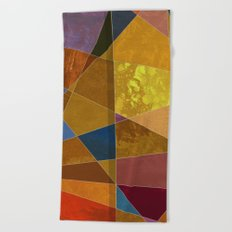 Abstract #331 Beach Towel