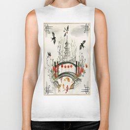 Oriental Garden Biker Tank