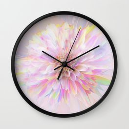 Delicate Detonation II Wall Clock