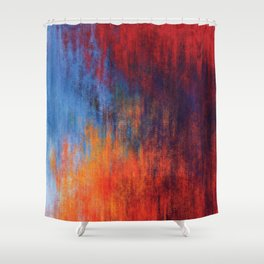 Hell Flame Shower Curtain