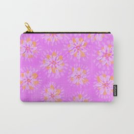 Orange Lilac Rose Carry-All Pouch
