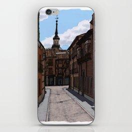 Alcalá streets iPhone Skin