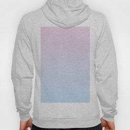 Pastel Ombre Millennial Pink Blue Gradient Pattern Hoody
