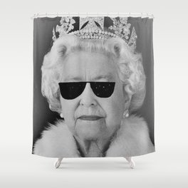BE COOL - The Queen Shower Curtain