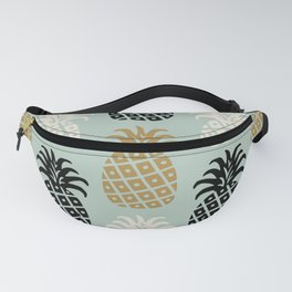 Retro Mid Century Modern Pineapple Pattern 78 Fanny Pack