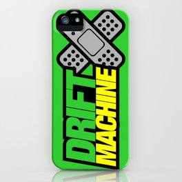 Drift Machine v3 HQvector iPhone Case
