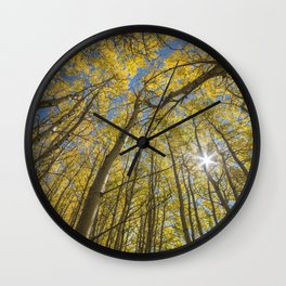 Sparkling Autumn 2 Wall Clock