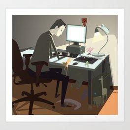 pc Art Print